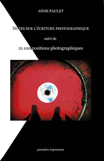 Couverture Notes sur l ecriture photogr