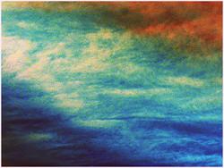 Paysage maritime le ciel