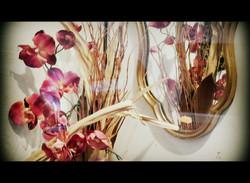 Miroir aux fleurs