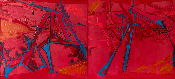 Tears of Rage diptych