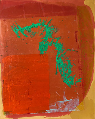 Dragon on Orange Corner