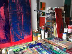 Jeffrey Kurland studio Brooklyn 12 Dec 2