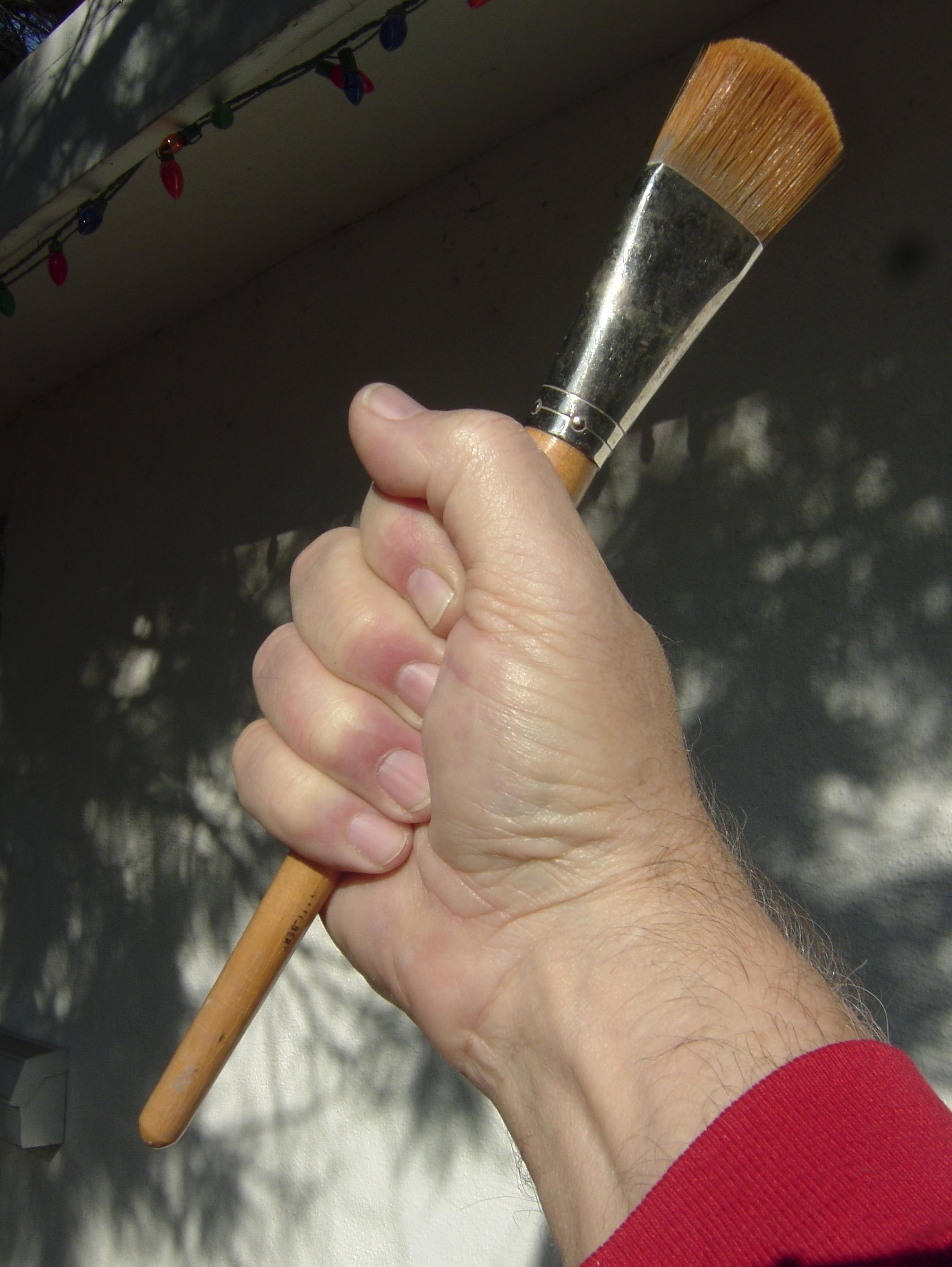 Fist.brush.1