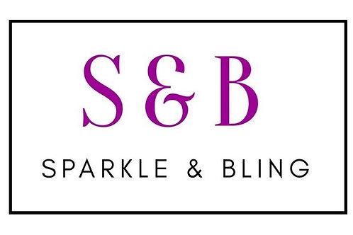SPARKLE & BLING Face Mask