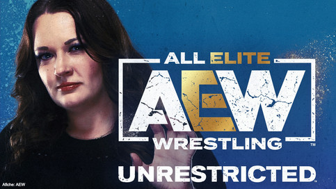 Amanda Huber on AEW's Unrestricted Podcast