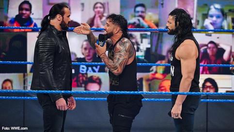SmackDown: McIntyre domina el poder de la unión familiar entre Reigns y Uso
