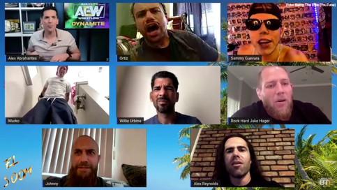 AEW: Willie Urbina y otros latinos participan en el reciente episodio de Being The Elite (VIDEO)