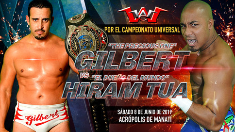 WWC: Tua regresa este sábado a retar a Gilbert por el Campeonato Universal