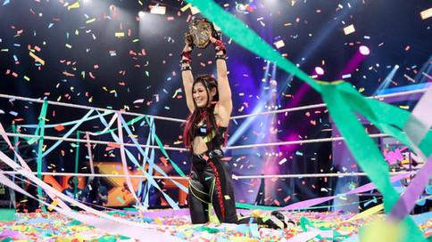 ÚLTIMA HORA: Io Shirai se convierte en la NUEVA Campeona Femenina de NXT