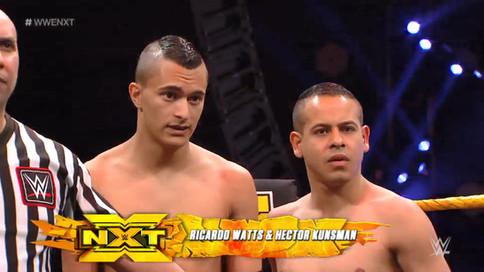 Luchadores puertorriqueños realizan aparición especial en WWE NXT