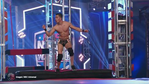 Digna representación de Héctor Perfecto en American Ninja Warrior