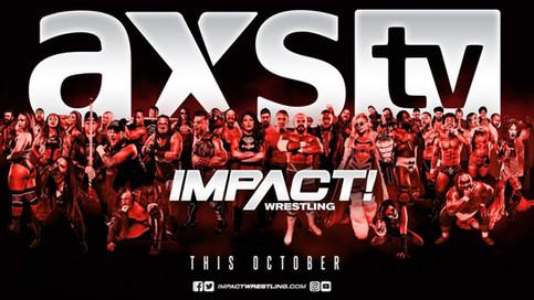 ÚLTIMA HORA: IMPACT Wrestling muda su programación a AXS TV