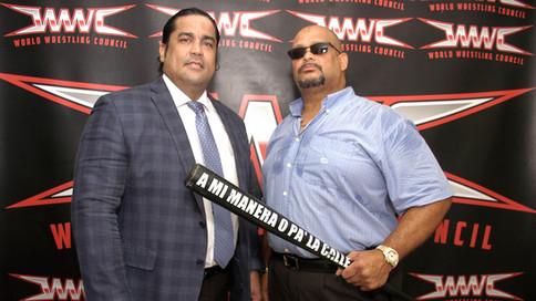 WWC: Ray González y Savio Vega mueven las fichas por la lucha libre puertorriqueña (FOTOS y VIDEO)