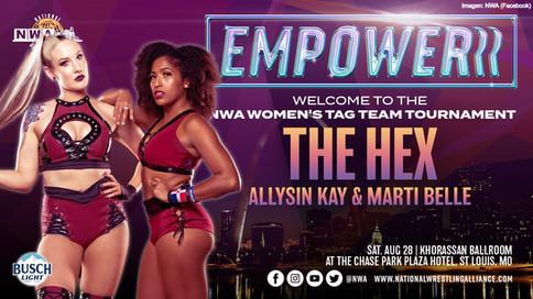Más encuentros confirmados para NWA EMPOWERRR