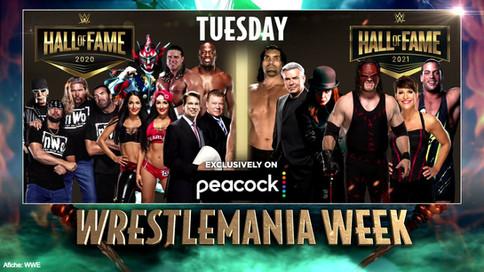 HONOR A QUIEN HONOR MERECE: Un vistazo al Salón de la Fama de WWE 2020 y 2021
