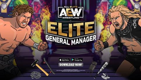AEW Elite General Manager disponible mundialmente para artefactos móviles (VIDEO)