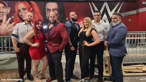 Luchadores boricuas Raeven Marie y Vertigo Rivera participan en WWE RAW Underground (VIDEO)