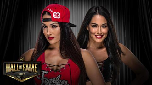 OFICIAL: The Bella Twins a ser ingresadas al Salón de la Fama de WWE (VIDEO)