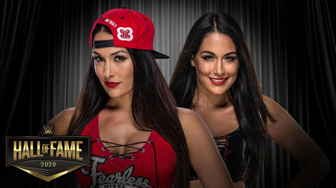 OFICIAL: The Bella Twins a ser ingresadas al Salón de la Fama de WWE (VIDEO)