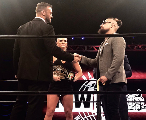 NWA: Nick Aldis a defender Campeonato Mundial ante Marty Scurll en The Crockett Cup