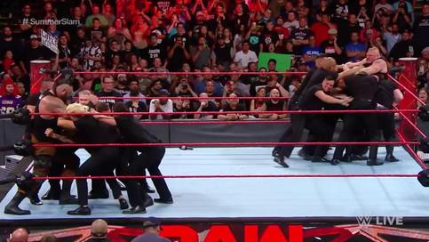RAW: Luchas de SummerSlam realizadas en el programa; NUEVO Campeón; Ambrose y Rollins se unen