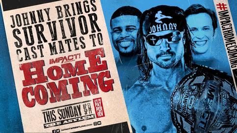 Ganador de SURVIVOR a estar presente en el evento Homecoming de IMPACT Wrestling en Nashville