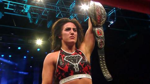 ÚLTIMA HORA: Tessa Blanchard es la primera fémina en ser Campeona Mundial de IMPACT Wrestling