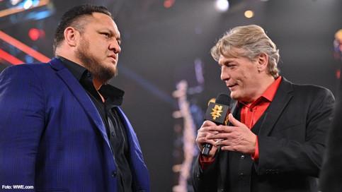 NXT: De regreso Samoa Joe como figura de ley y orden