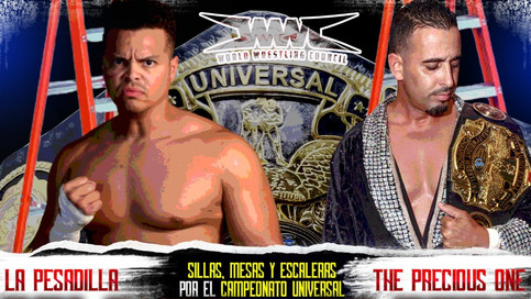 WWC: Tables, Ladders and Chairs match for the Universal Title at next iPPV event (VIDEO)