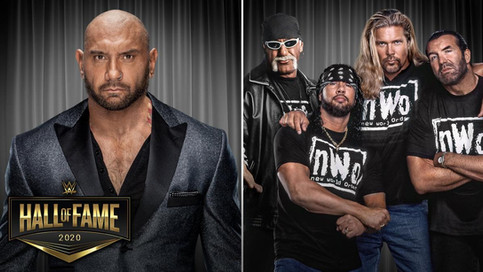 OFICIAL: Batista y nWo a ser inducidos al WWE Hall of Fame 2020