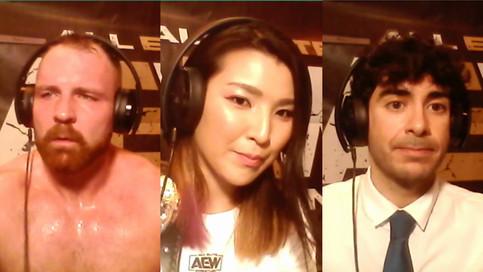 Notas de la conferencia de prensa de All Out; Condición de Hardy; Khan habla para Contralona (VIDEO)
