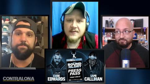 IMPACT Wrestling: Eddie Edwards y Sami Callihan expresan estar listos para Bound For Glory (VIDEO)