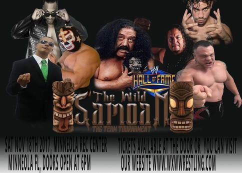 OFICIAL: Luchadores puertorriqueños serán parte del Wild Samoan Tag Team Tournament (VIDEOS)