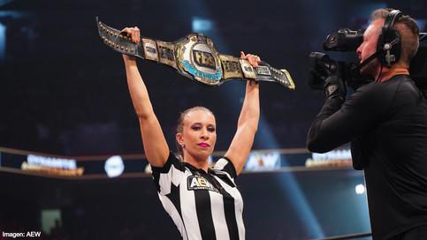 AEW presenta el nuevo campeonato TBS creado para la división femenina