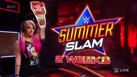 RAW: Nuevos encuentros para SummerSlam; Bayley fuera del evento