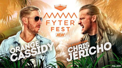 Chris Jericho buscará exprimir a Orange Cassidy en AEW Fyter Fest