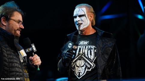 Sting es el invitado especial del podcast AEW Unrestricted (AUDIO)