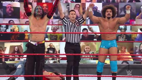 """WWE: Carlito regresó a RAW y demostró que eso siempre será """"cool"""""""
