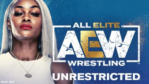 Jade Cargill en el más reciente podcast de AEW Unrestricted (AUDIO)