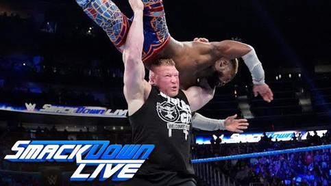 SmackDown: Kingston y Lesnar a luchar por el campeonato de la WWE en el debut de la marca azul en Fo