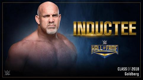 ULTIMA HORA: Goldberg anunciado como el primer integrante al Salón de la Fama de la WWE de 2018