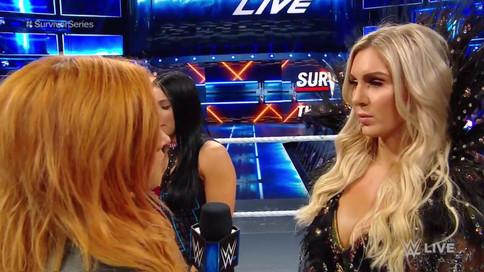 ULTIMA HORA: Charlotte Flair a sustituir a Becky Lynch en encuentro ante Ronda Rousey en Survivor Se