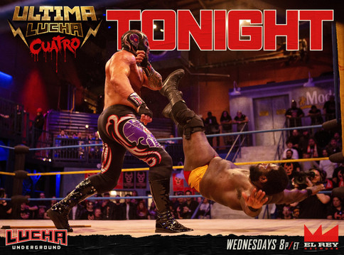 Lucha Underground: Final de temporada esta noche con Ultima Lucha Cuatro (Parte 2)