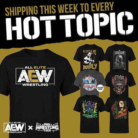 AEW anuncia asociación con la tienda Hot Topic