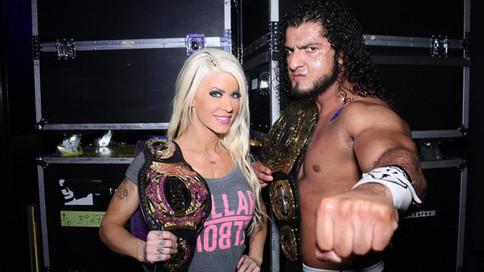 ROH: Rush se convierte en NUEVO Campeón Mundial; Love obtiene Campeonato Femenino de WOH (VIDEO)