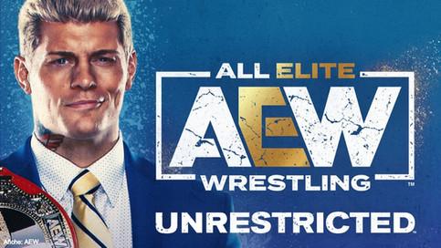 Cody Rhodes en la más reciente edición del Podcast AEW Unrestricted