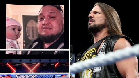 SmackDown LIVE: Joe llega al hogar de Styles; English a revelar un secreto de Lana; R-Truth vs. The