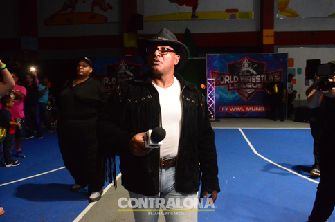 Pena Capital define una nueva etapa en la Liga Mundial de Lucha (FOTOS y VIDEO)