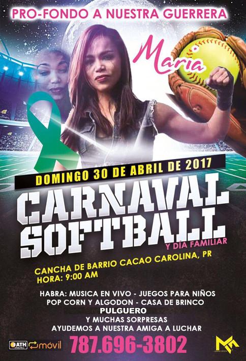 Carnaval de Softball a celebrarse pro-fondos luchadora independiente