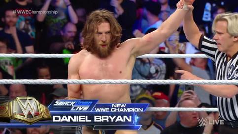 NUEVO Campeón MUNDIAL: Daniel Bryan derrota a AJ Styles en WWE SmackDown LIVE